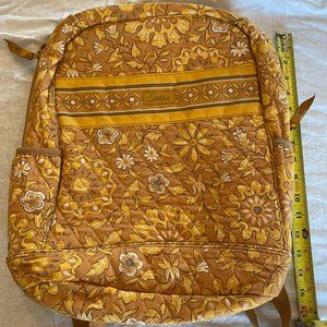 Longaberger 10x5x6 Quilted Laptop Backpack